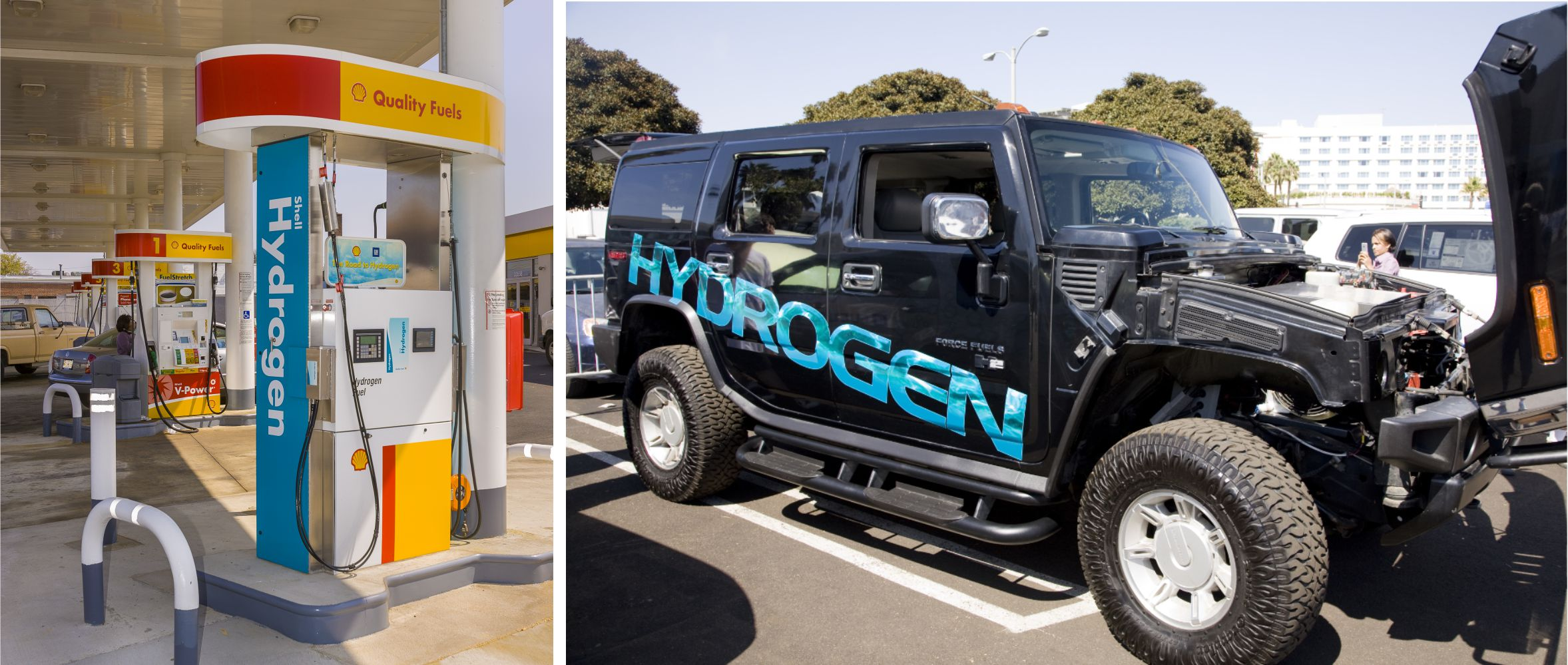 Hydrogen vehicle fuel